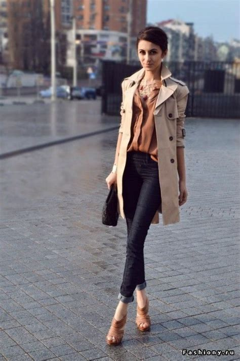 Style Ideas How To Wear Those Black Second City Style Fashion by Smart Casual Glammed Up Beige Trench Coat Mac Black
