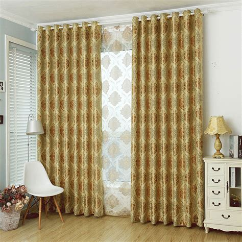 80 inch drop curtains beautiful beige blackout polyester gold damask jacquard polyester luxury curtains and drapes