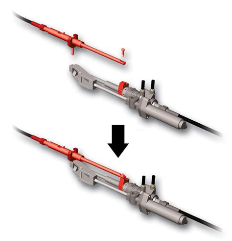 cable steering type r sterndrive systems - Boat Steering Cable Types