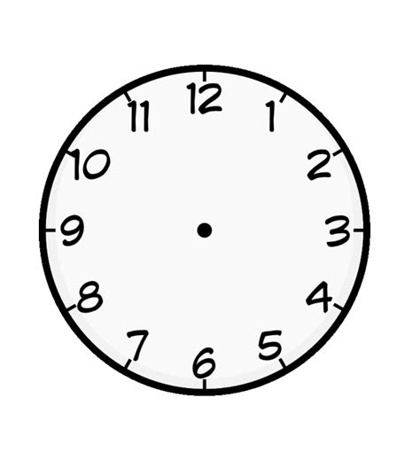 free printable clock images free printable clock coloring pages for kids
