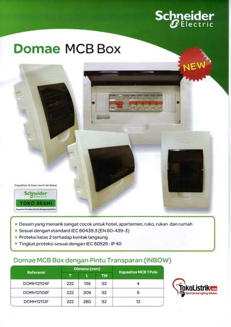Saklar Merk Schneider catalog domae mcb box and how to install elcb kataloq