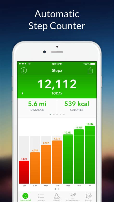 android step counter stepz pedometer step counter for tracking steps ios