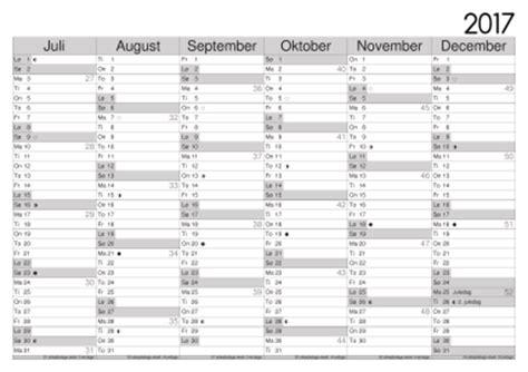 Kalender 2018 Med Uger Kalendersiden Lav Din Egen Kalender
