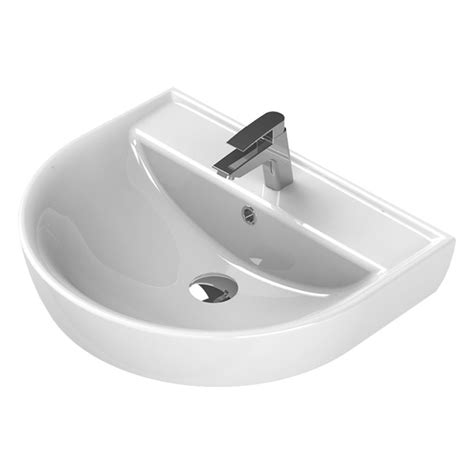 nameeks wall mounted sink nameeks wall mounted bathroom sink in white