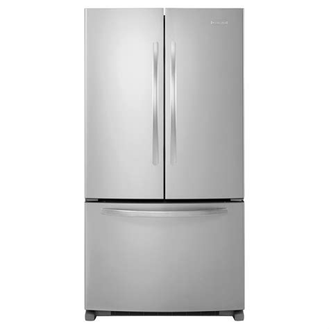 Kitchenaid Drawer Refrigerator by Kitchenaid Kbfs25ewms 24 8 Cu Ft Door Bottom