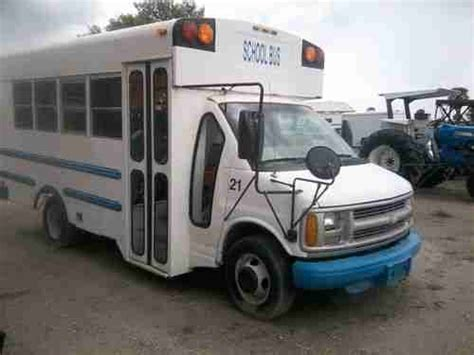 airbag deployment 1998 chevrolet express 3500 parking system sell used 1998 chevrolet express 3500 quot shuttle bus quot 42 027 original miles in avon park