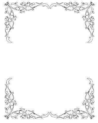 wedding invitation border clip art   Google Search   Other