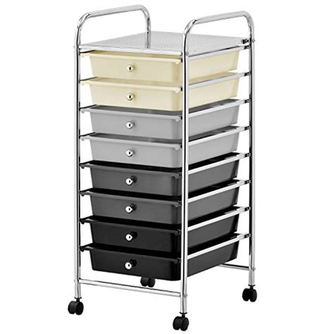 8 Drawer Rolling Organizer by Mobile Storage Cart Get Best Products Review