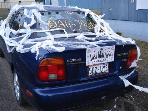 DIY Wedding Car Decoration Ideas   See Fun Ways To