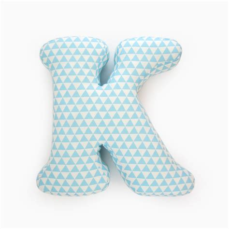 Letter Pillows by Alphabet Pillow Letter K Alphabet Pillows Initials Letter