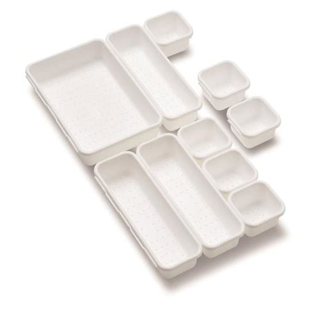 Plastic Drawer Organizer by Shop Style Selections 16 In X 12 75 In Plastic Multi Use