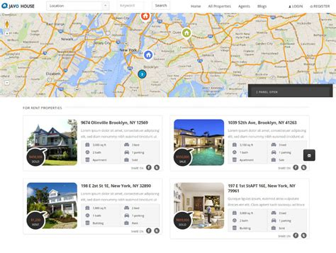 templates bootstrap real estate top 10 responsive real estate wordpress themes july 2014