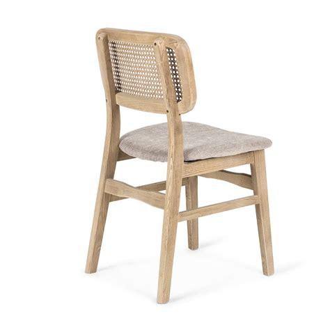 sillas tapizadas de madera estilo vintage