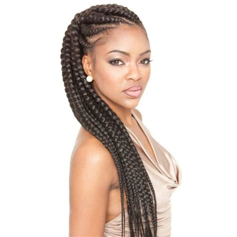 nice under braids with weave get the latest afri naptural tripple jumbo braid at luxwig