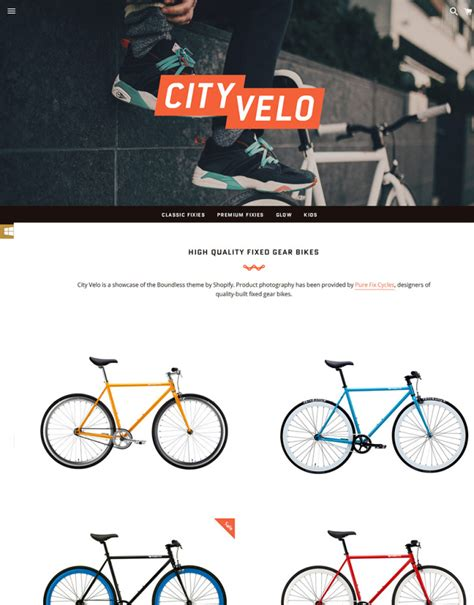 shopify themes boundless 30 free and premium shopify themes for various purposes