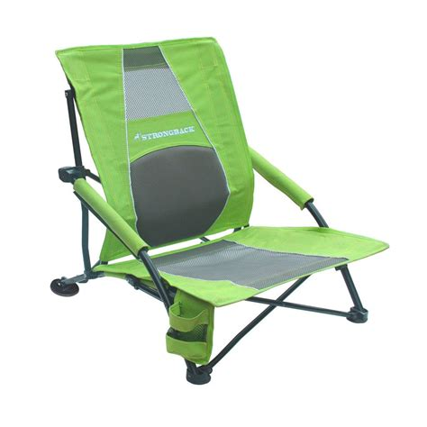 Strong Back Chairs by Strongback Low Gravity Chair Lime Green And Grey