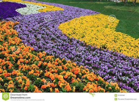 Flower Garden City Expo Flower Garden Stock Photo Image 31205390