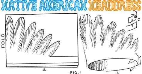 indian headdress template how to make a paper american indian headdress hat
