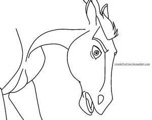 horse base 5 by lineartforfree on deviantart