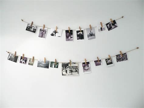 how to hang polaroid lights hang polaroids photography