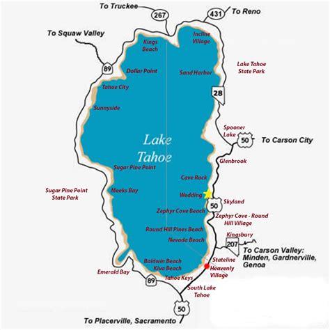 lake tahoe map maps update 10001000 lake tahoe tourist map discover