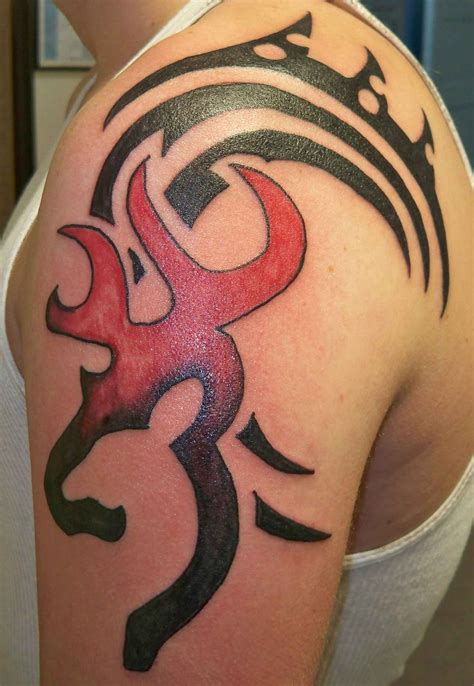 browning tribal tattoo browning symbol tattoos on hip tattoos designs ideas