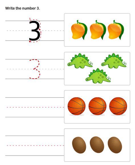 Pre K Writing Worksheets by Printable Pre K Number Worksheets