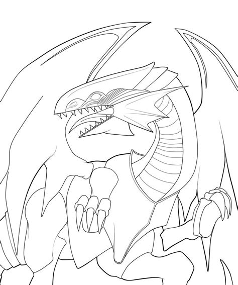 coloring pages of dragon eyes blue eyes white dragon by dragonfire1000 on deviantart