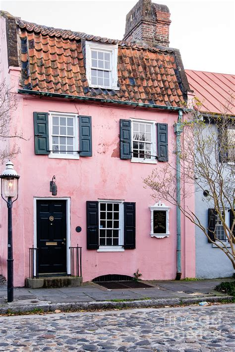 the pink house charleston the pink house charleston south carolina photograph by