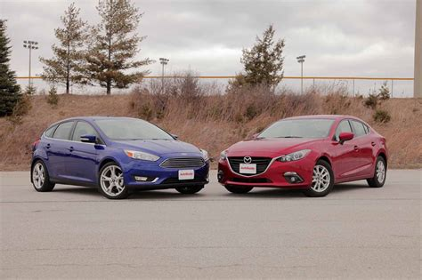 2015 ford focus vs mazda3 autoguide news