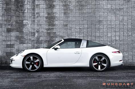 porsche targa white 2015 porsche 911 targa shines on 50th anniversary edition