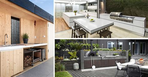 modern outdoor kitchen 7 outdoor kitchen design ideas for awesome backyard