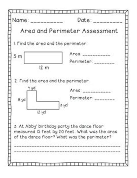 printable area and perimeter word problems area and perimeter word problems worksheets 7th grade