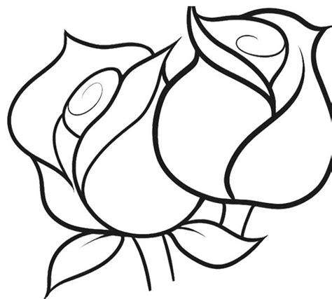 small rose coloring page pin by coloringsworld com on flower coloring pages