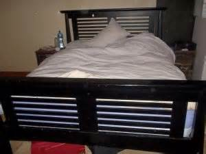 Wood Bed Frame South Africa Size Bed Plus Mattress With Ark Wood Frame Cape