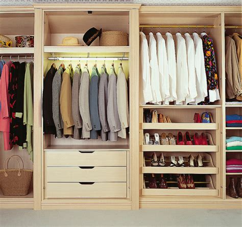 American Wardrobe by Bespoke Bedroom Walk In Wardrobe