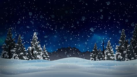 animated christmas trees with snow wallpapers animated pictures of snow falling impremedia net