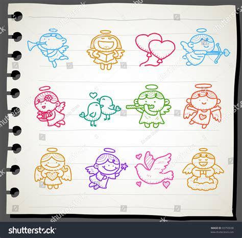 sketchbook icon sketchbook series icon set stock vector 93755038
