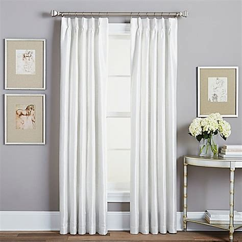 lined rod pocket curtains buy spellbound pinch pleat 95 inch rod pocket lined window