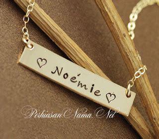Kalung Nama Lapis Emas Perhiasan Lapis Emas Berkualitas kalung nama lapis emas murah dan berkualitas kalung nama lapis emas