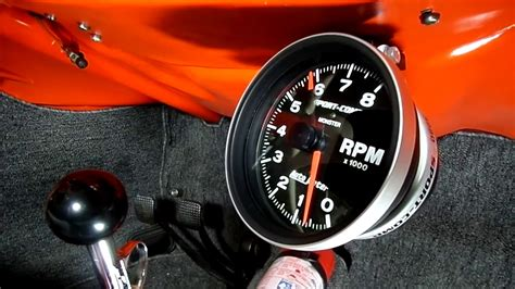 vw beetle tachometer installation youtube