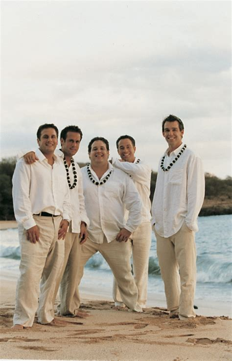 Wedding Attire Resort Casual by Grooms Groomsmen Photos Casual Groomsmen