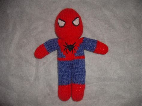 knitting pattern for spiderman jumper knitted spiderman knitting pattern by irene mccormick