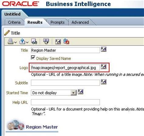 tutorial oracle business intelligence 11g oracle business intelligence fmap in obiee 10g obiee 11g