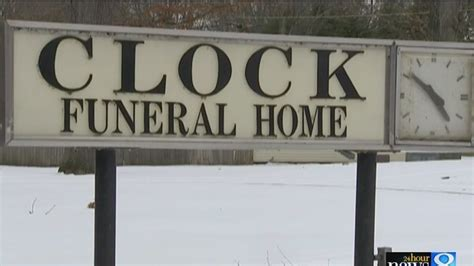 Founds Funeral Home by Clock Arrested And Found In West