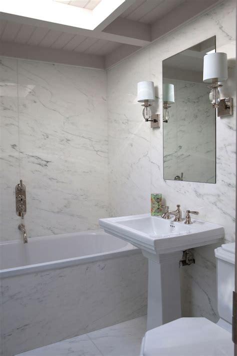 bathroom with skylight ideas transitional bathroom