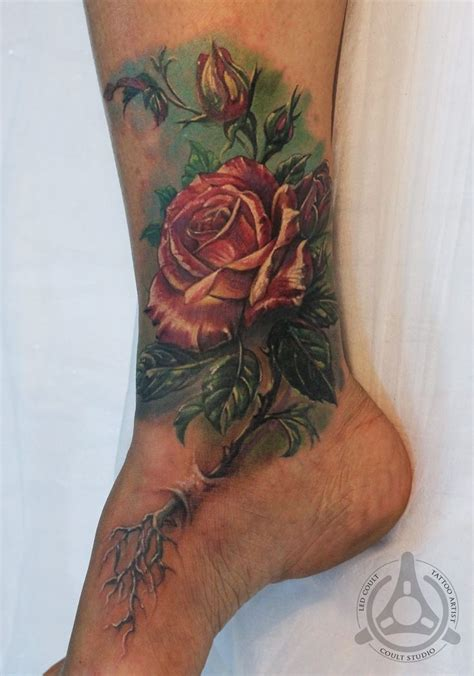 best rose tattoos ever 42 best images about artist led coult on
