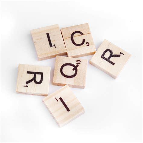 is ib a word in scrabble 100pcs wooden alphabet scrabble tiles black letters