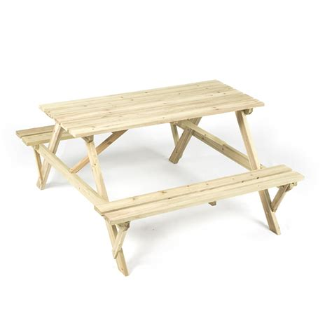 Table Ls 50 by Rectangular Wooden Outdoor Picnic Table Patio Garden Al