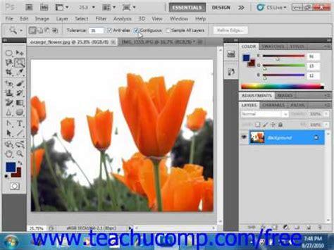 photoshop cs5 tools tutorial photoshop cs5 tutorial the magic wand tool adobe training